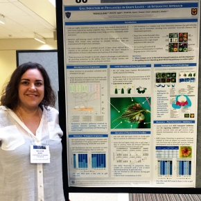 Melanie at the 2018 Glass City Chemistry Conference