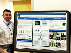 Taylor at the Midwest Plant Cell Dynamics Meeting