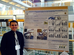 Ryan at the Life Science Week poster session - April 15, 2015