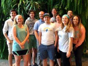 Will, Sam, Wade, Clayton, Ryan, Dean, Melanie, Casey, Dhru, and Briana (Lab Cleanup - May 14th, 2015)