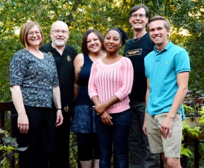 Gall team, Fall 2015: Heidi Appel, Jack Schultz, Melanie Body, Trudi Grant (University of Florida), Dean Bergstrom, Jacob Combs (Not on the picture: Reshma Khanna)