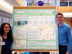 Nicole and Will at the poster session for the Spring undergraduate research programme (April 26, 2016)