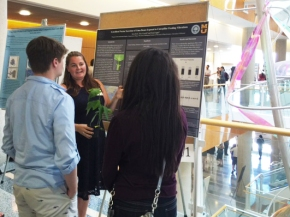 Kira at the Summer Undergraduate Research Forum (July 28th, 2016)