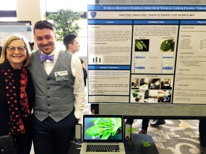 Heidi and Taylor at the Midwest Graduate Research Symposium - April 7, 2016