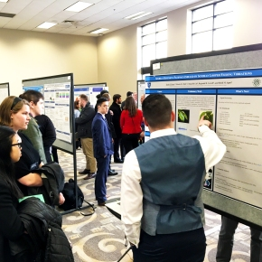 Poster session at the Midwest Graduate Research Symposium - April 7, 2016